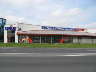 Unix autóalkatrészek Győr
