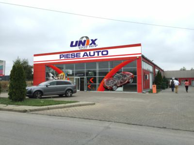 Unix autodiely Arad
