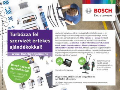 Bosch tavaszi ajándéközön