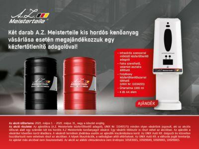 A.Z. Meisterteile kis hordós akció