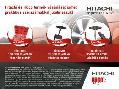 Hitachi & Hüco akció