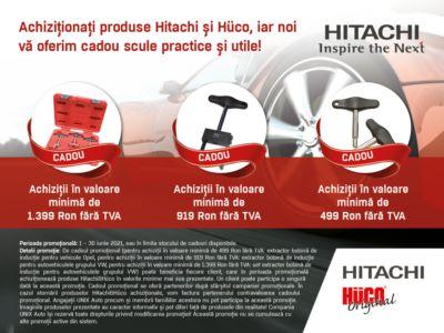 Promotia Hitachi & Hüco!
