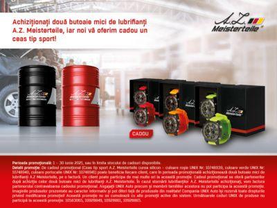 Promotia lubrifiantilor A.Z. Meisterteile la butoi mic!