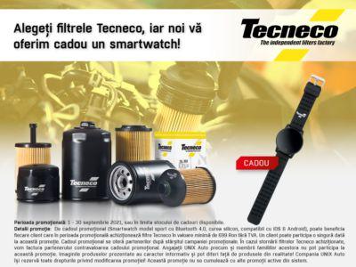 Promotia filtrelor Tecneco!