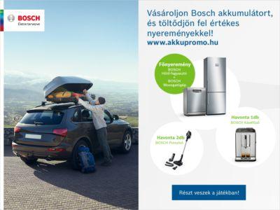Bosch akkumulátor akció